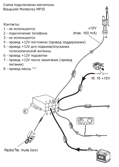 Clarion Wxz468rmp Инструкция По Подключению